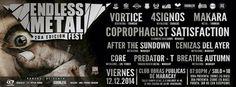 Cresta Metálica Producciones » Endless Metal Fest 2da Edición (Maracay) // 12-12-2014