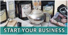Start your loose leaf tea business and become an entrepreneur! We have everything you need to become successful in your own direct selling business.