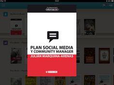 Plan Social Media y Community Manager en el IPad.