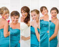 Adorable bridesmaid picture idea!