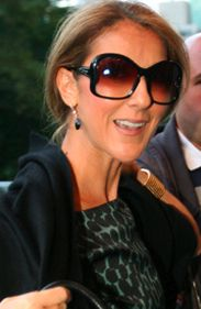 celine dion glasses 22f5  Celine Dion says she owns pairs of shoes, oh my!