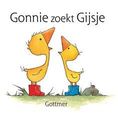 Boekidee bij Gonnie zoekt Gijsje; een stoffen babyboekje.Te downloaden op de website van BoekStart, nieuws. Door Elly van der Linden