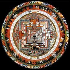 3D Kalachakra mandala by Arjia Rinpoche