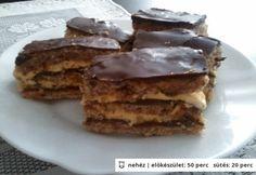 Krémes-diós sütemény