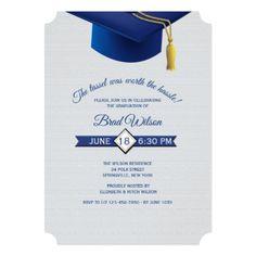 Tel Worth The Hle Graduation Invitation Party Invitations Card Cards Cyo Grad Celebration