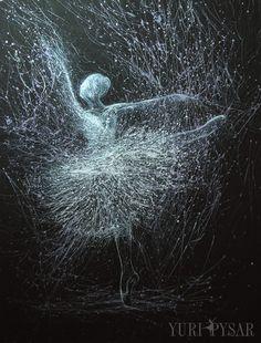 giselle painting - ballerina canvas art
