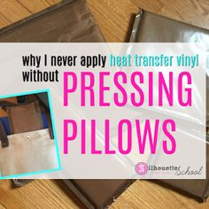 Heat Press Pillows: How to Make Your Own (and Save a Bunch of Money!) - Silhouette School