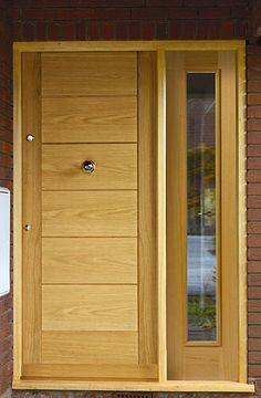 Therm-L Cognac and Rhone external door
