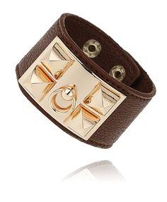 Gina Tricot -Leather cuff wristwear