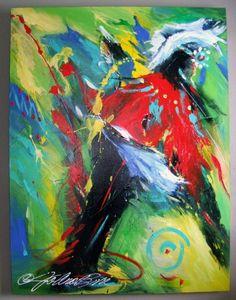 PIPER :: Tradition (Original) by South Dakota Artist JoAnne Bird