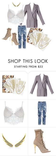"""BeautyCubed's Rihanna Holiday Gift Guide"" by preeya-malik on Polyvore featuring Flash Tattoos, Givenchy, For Love & Lemons, One Teaspoon, Allurez and Balmain"