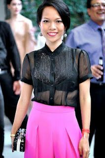 Khanh Nguyen is the Creative Director and Designer of the Nha Khanh collection.