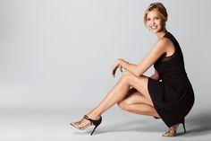 Wearing an Ivanka Trump Dress and Ivanka Trump Herly Sandals