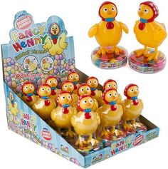 #Toy #Easter #Chicks - Lays Gumball #Eggs - Fancy #Henny - #Dubble Bubble - .53-ounce #Candy-filled Dispensers (Pack of 12). These are so fantastic as an Easter #basket filler. Great Easter treat