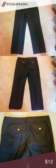 """BandolinoBlu Trouser Jeans Dark denim. 31"""" inseam. 17"""" waist. 11"""" rise. Excellent condition. Bandolino Jeans"""