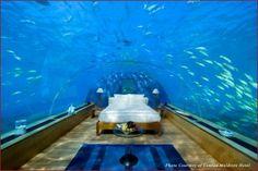 Rangali Island Hotel in Maldives.