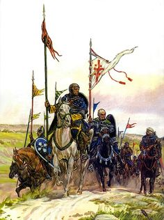 The Crusades - La Pintura y la Guerra. Sursumkorda in memoriam Medieval World, Medieval Knight, Medieval Times, Kingdom Of Jerusalem, Friedrich Ii, Crusader Knight, High Middle Ages, Armadura Medieval, Château Fort