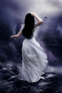 Not Breathing by Finisternis on DeviantArt Dark Beauty, Gothic Beauty, Dark Princess, Gothic Fantasy Art, Beautiful Landscape Wallpaper, Bride Of Christ, Dark Pictures, Beautiful Fantasy Art, Fantasy Photography