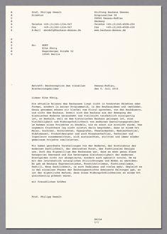 HORT — Bauhaus Dessau corporate design | stationary | Dessauer courier