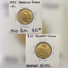 1995 American Eagle $10.00 gold coin