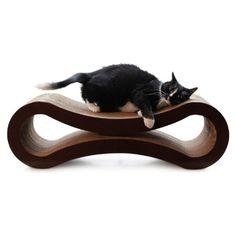PetFusion Ultimate Cat Scratcher Lounge (Walnut Brown)