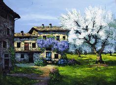 Primavera in fiore cm. 60x80