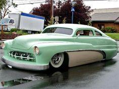 "Mercury lowrider retro classic fire custom hot rod rods Mini Poster 13/""x19/"" HD"