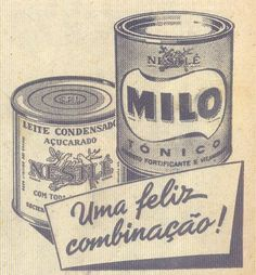 Homemade Bites: Condensed Milk Vintage Ad