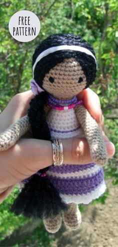 32+ Inspired Photo of Crochet Doll Patterns | Crochet doll pattern ... | 494x236