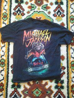 Michael Jackson Tee Shirt by MANYFUNTIMESHOP on Etsy 3e0fe9f794d0