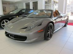 Check out this awesome 2013 ferrari 458 spider for sale on SpeedList!