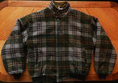 vintage Plaid wool jacket, 1970s