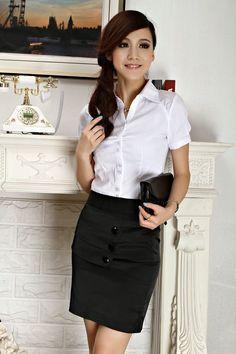 Business Attire for Women Skirt in Different Models
