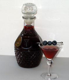 Good Cocktails - Homemade Blueberry Liqueur Recipe