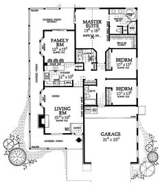 House Plan chp-23656 at COOLhouseplans.com
