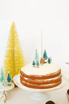 6 tartas infantiles decoradas para Navidad   DecoPeques