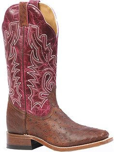 Boulet Women's 13 Inch Exotic Western Boot Style: BT-3520