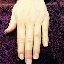 Long Ashes Pure Spa - Barely There Beauty  One of this summer's main beauty trends is embracing the minimal look and enhancing your natural beauty.  Ensure your nails are on trend with a French or nude manicure.  Pictured are manicures in French and Creamy Caramel.  Book your manicure or pedicure today on 01756 752261.