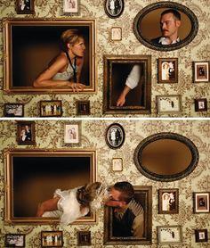 Painel de Porta Retratos e Molduras