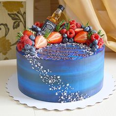 Salmon and mozzarella cake - Clean Eating Snacks 21st Birthday Cakes, Birthday Cakes For Women, Cakes For Men, Cakes And More, Beautiful Birthday Cakes, Amazing Wedding Cakes, Alcohol Cake, Holiday Cakes, Drip Cakes