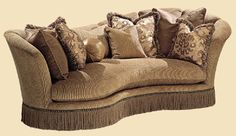 Marge Carson Furniture   Marge Carson High End Sofa Added In Living Room  Marge Carson Seatings