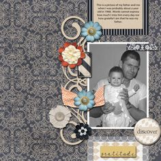 Kit's Used:  Pixel Scrapper's Berlin Bundle and Word Art World's Gratitude.  Template is the November 2013 Challenge by Sahlin Studios.