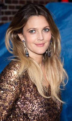 Drew Barrymore With Dip Dye Hair, 2010. Need my ombre to look like this again.