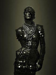 Jean Paul Gaultier Couture 2009. Excelente! #Fotografia