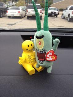 Plankton has a new buddy @jadeleeauthor #squidge @TheMrSquidge