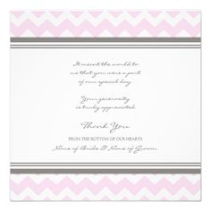 DealsWedding Thank You Cards Pink Gray Chevronso please read the important details before your purchasing anyway here is the best buy