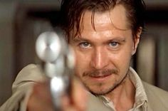 Gary Oldman - one of the best movie villain actors of all times as Leon in the Professional