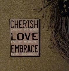 Cherish Love Embrace