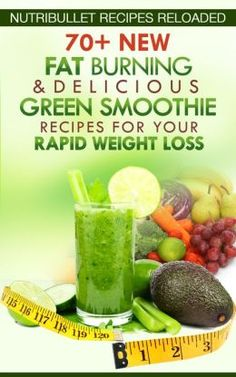 Fat-Burning Smoothie Nutri Bullet Recipes | Nutribullet Recipes Reloaded: 70+ New Fat Burning & Delicious Green ...