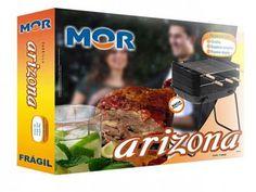 Churrasqueira Carvão Mor 1 Grelha 3 Espetos - Arizona com as melhores condições você encontra no Magazine Tonyroma. Confira!